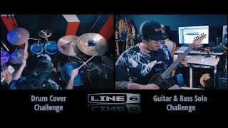 Timeless - Jack Thammarat | LINE6 Drum Cover & Guitar solo Challenge | Chakit Kerdsakul