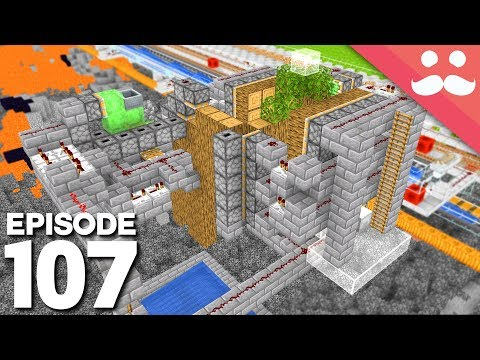Hermitcraft 6: Episode 107 - Industrial TREE FARM
