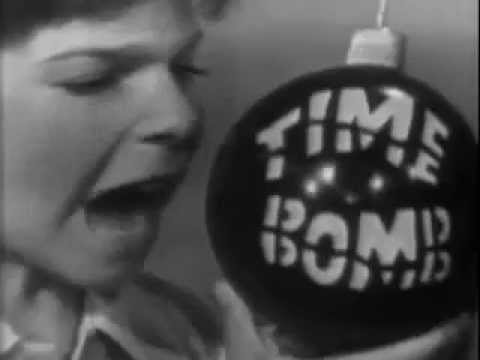 VINTAGE 1964 (TOY) TIME BOMB COMMERCIAL WITH STUBBY KAY