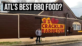 BEST BARBECUE IN ATLANTA? | LUNCH AT B'S CRACKLIN' BARBECUE