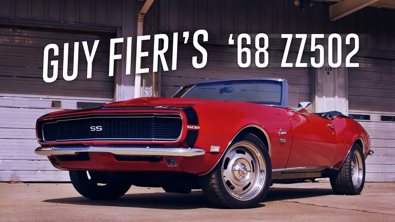 guy fieri gets big block chevy power - 1968 camaro zz502 - youtube