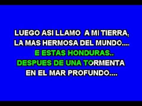Moices Canelo -  Honduras vaya Pues - Karaoke demo