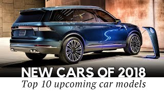 10 New Cars And Concepts Showcased In 2018 (New York Auto Show Highlights)