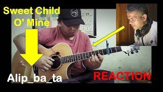 Gambar cover Sweet Child O' Mine   Guns n' Roses fingerstyle cover - MINANG REACTION