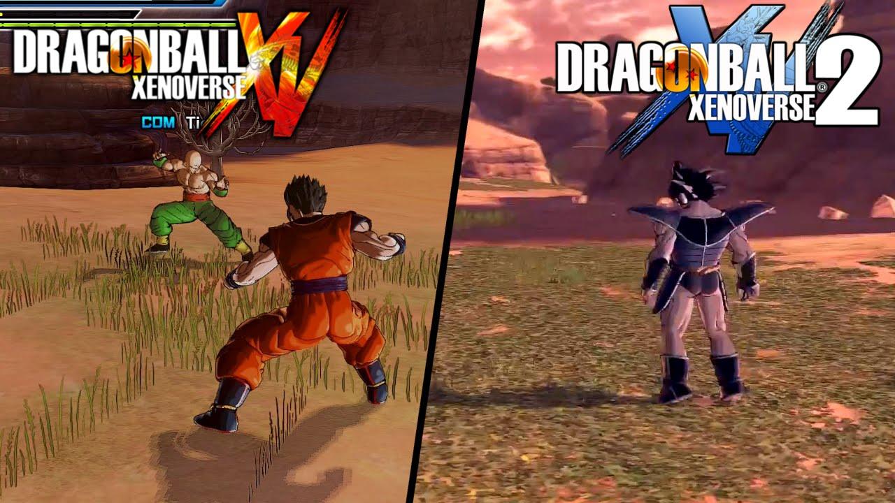 Resultado de imagem para dragon ball xenoverse 1 e 2 ps4
