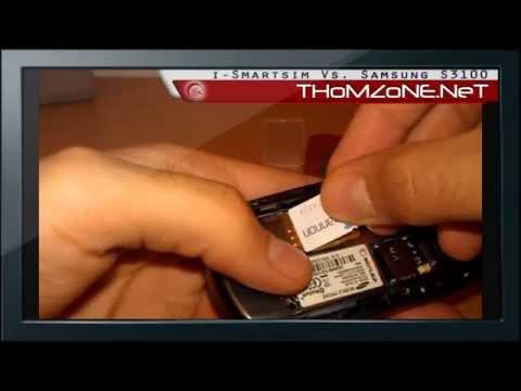 THoMZoNE.NeT - i-Smartsim Vs. Samsung S3100