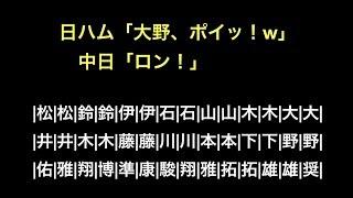 日ハム「大野、ポイッ!w」 中日「ロン!」 thumbnail