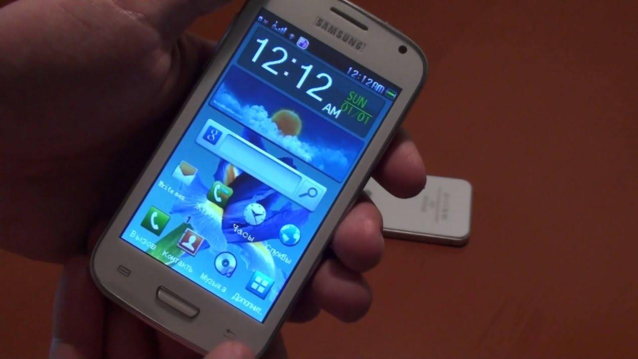 "Китайский телефон ""Samsung GALAXY S III"" - YouTube"