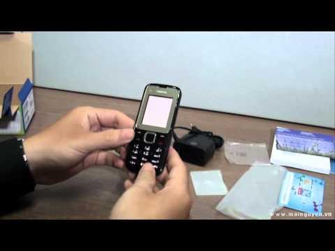 Nokia C2-00 Unboxing and Review - www.mainguyen.vn