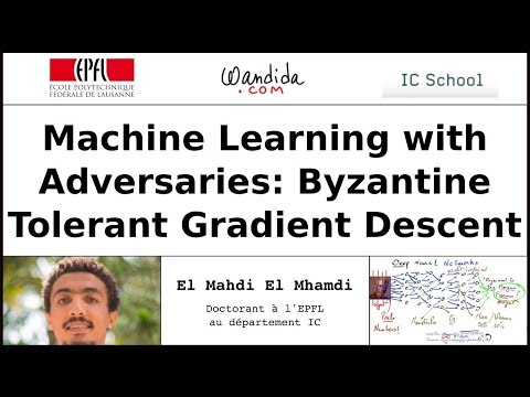 Machine Learning With Adversaries | El Mahdi El Mhamdi NIPS 2017