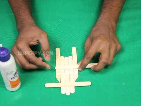 How To Make A Popsicle Stick Sled Youtube