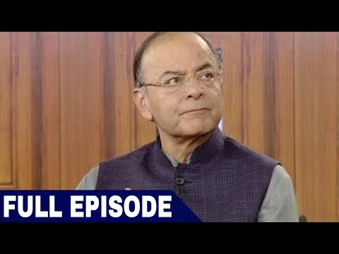 Finance Minister Arun Jaitley in Aap Ki Adalat (2018) (Full Interview)