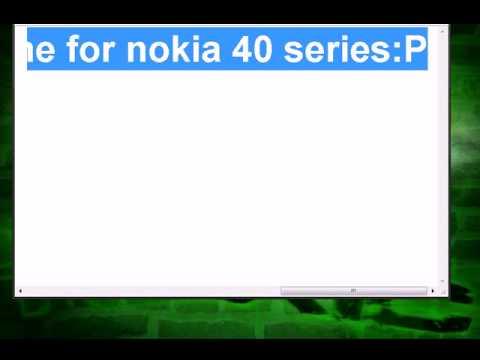 How to make(create)a Nokia Theme?