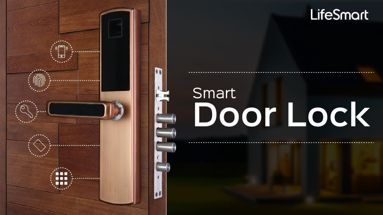 Lifesmart Smart Door Lock Integration With Smart Home