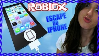ROBLOX: CAN YOU ESCAPE the IPHONE?! (C/FACECAM) * MariaCGames *