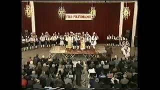 Festivali i pare i polifonise Shqiptare Tirane 14 Nentor 2001.