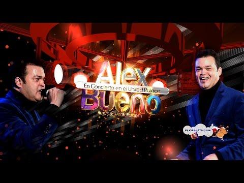 ALEX BUENO y Orq. Concierto en el   UNITED PALACE - 4K - Dic. 2016