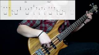 David Bowie - Ashes To Ashes (Bass Only) (Play Along Tabs In Video)