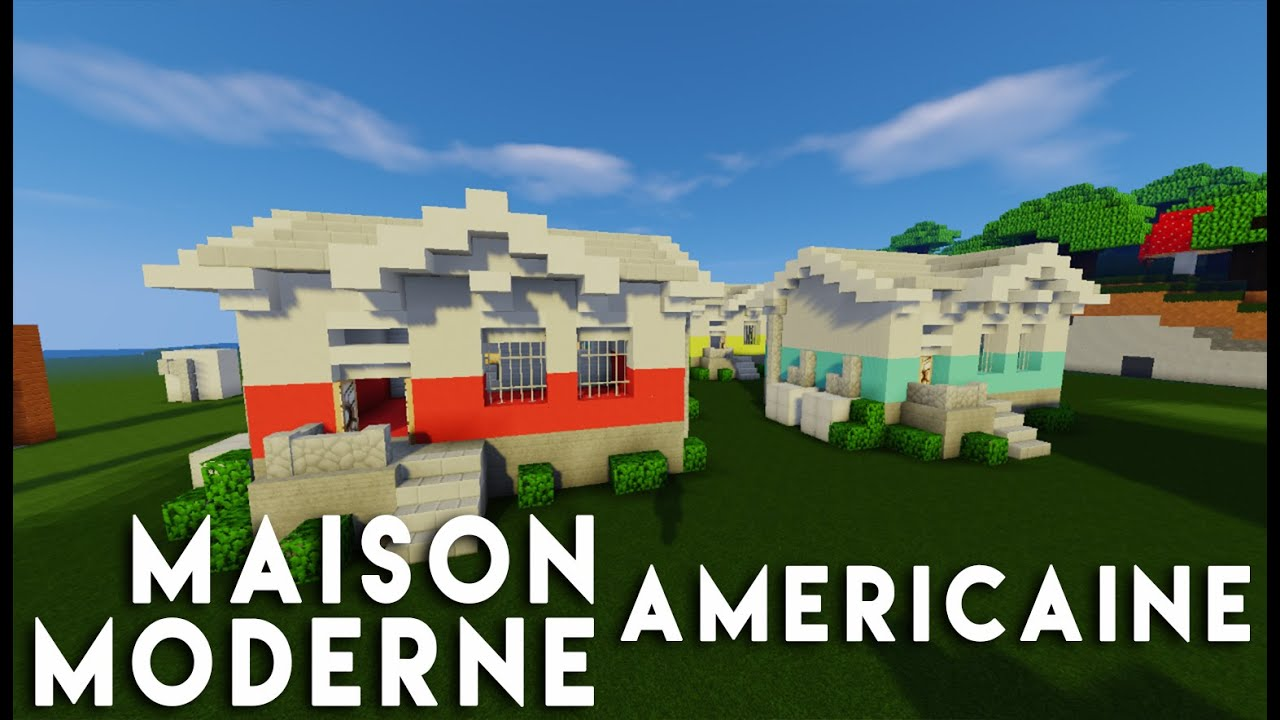 Model de maison americaine read more la visite for Modele maison minecraft