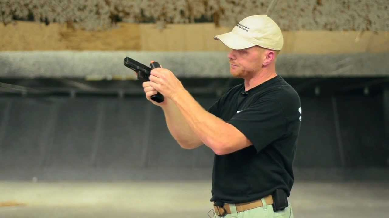 Pistol Reload Lesson- Shannon Smith- Grand Master and World Champion Shooter