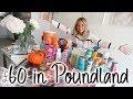 HUGE POUNDLAND HAUL! | OCTOBER POUNDLAND HAUL | Lucy Jessica Carter