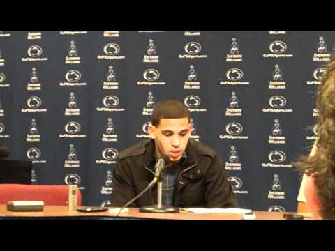 Penn State guard Talor Battle expresses frustration after losing to Michigan, 65-62