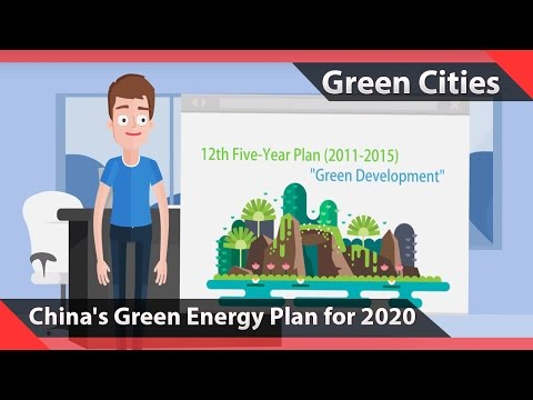 China's Green Energy Plan for 2020