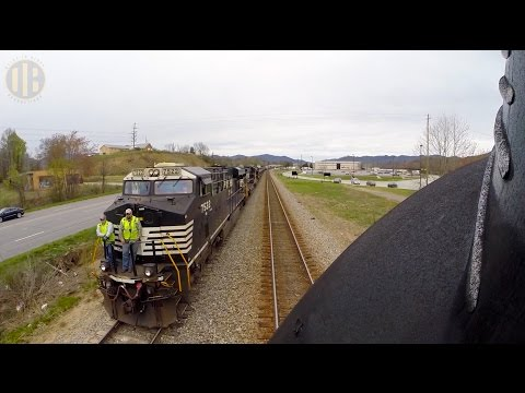 Locomotive Ride Along: Norfolk & Western 611