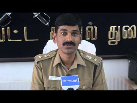 Dr. M. Sudhakar, Superintendent of Police, Coimbatore District