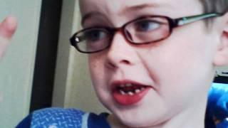 One goofy kiddo