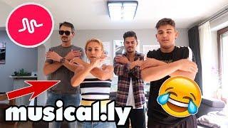 MUSICAL.LY STUNDE mit DER GANZEN FAMILIE - ZUM TOTLACHEN!! | TBATB