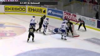 Highlights: Omgång 7 AIK-Leksand 7-3