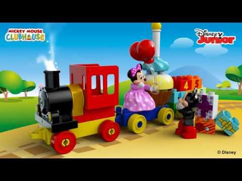 Lego Duplo Klocki Parada Urodzinowa Myszki Miki I Minnie 10597 Youtube