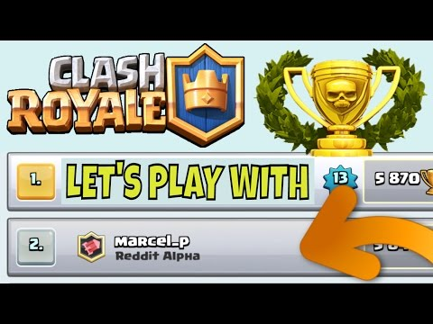 MARCELP :: Live Matches, Hog Cycle Deck Strategy + Best Pro Tips in Clash Royale