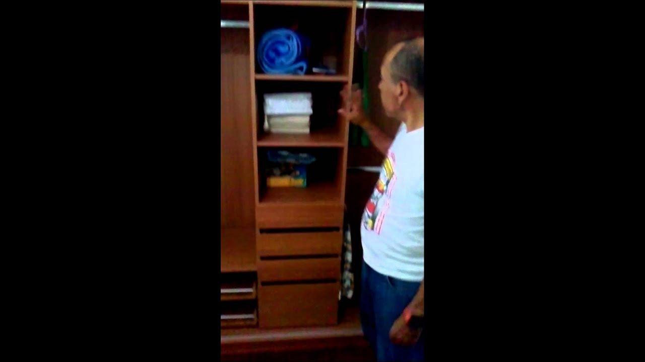 Closets con puertas plegables   youtube