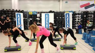Power step in Decathlon cu Activ Gym Gilau