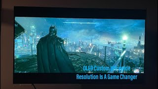 (I was wrong) OLED Ultrawide Custom Resolution Gaming Is Amazing 2020 OLED LG CX 48 : Review Pt 2.5