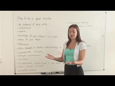 How To Be An Excellent Teacher