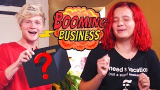 MEISJE BANG VOOR MYSTERY BOX | BOOMING BUSINESS #2 | Kalvijn