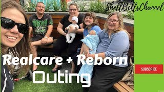 Robot Baby /Realcare Baby OUTING!!!