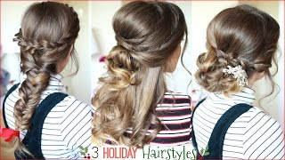 3 Holiday Hairstyles   Christmas Hairstyles   Braidsandstyles12