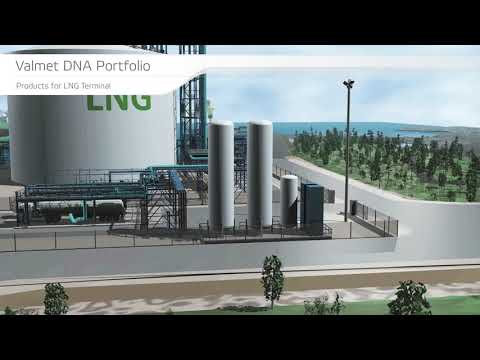 Valmet DNA Integrated Operations for LNG terminal
