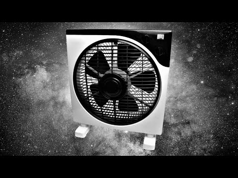 Box Fan Noise   BLACK SCREEN   Sleep, Study, Focus, Soothe Crying Baby