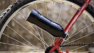 क्या ये देसी जुगाड़ काम करेगा - How To Make Bicycle Exhaust Silencer Sounds Like KTM Duke