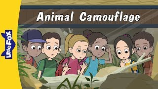 Animal Camouflage | Science | Animals | Little Fox | Animated Stories for Kids