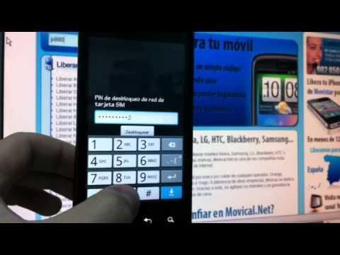 Liberar LG P990 Optimus 2X, desbloquear LG P990 Optimus 2X de Vodafone  - Movical.Net