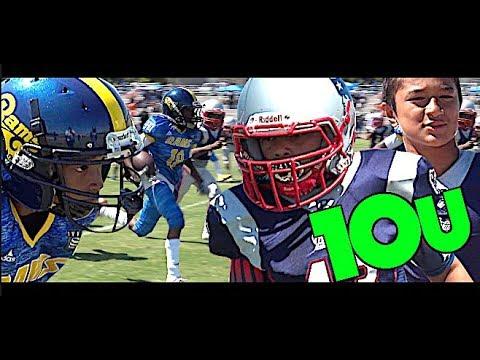 🔥🔥 Long Beach Patriots vs Los Angeles Rams 10U - UTR Youth Highlights 2018