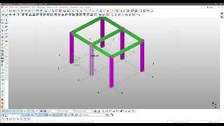 Tekla Structures. Урок 7. Работа с чертежами