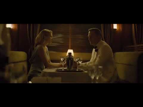 Spectre Train Scene Youtube