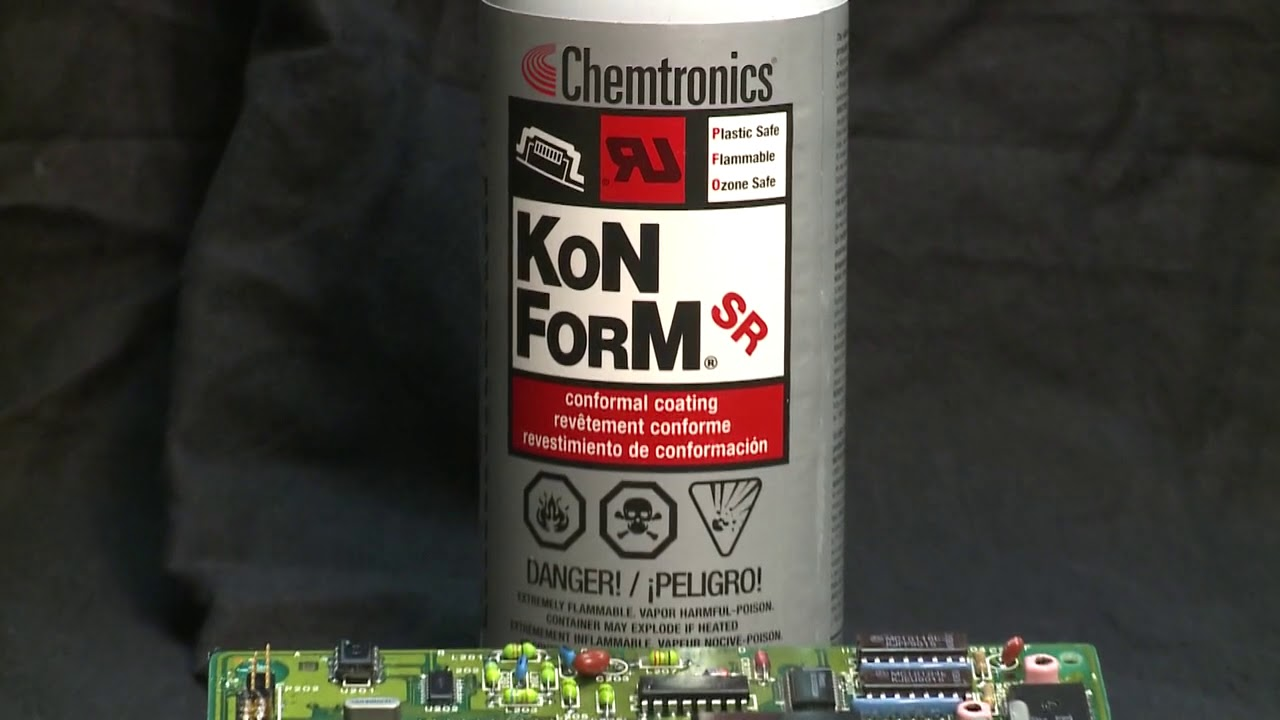 Conformal Coating for Spray, Dip, and Brush Applications